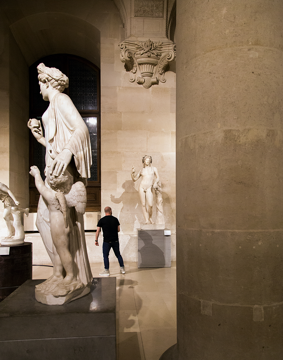 Fabian Fröhlich, Louvre, Salle du Manège