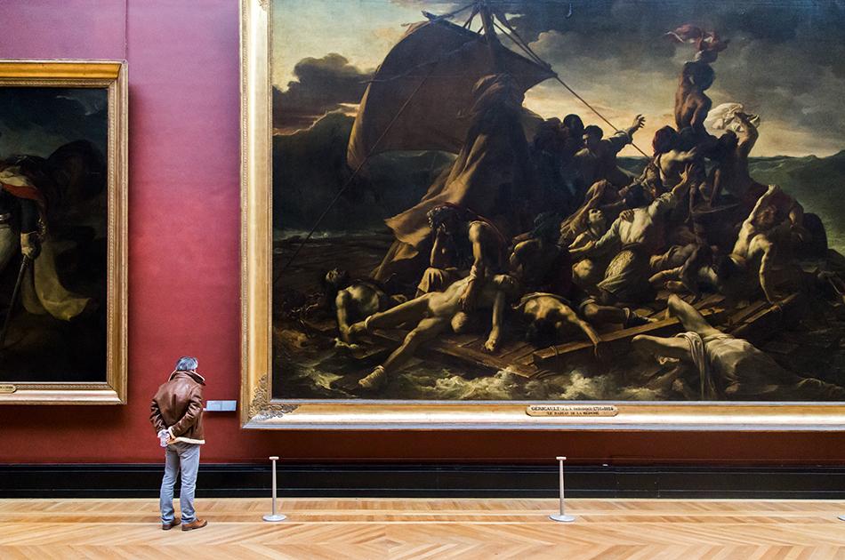 Fabian Fröhlich, Louvre, Théodore Géricault, Le Radeau de la Méduse