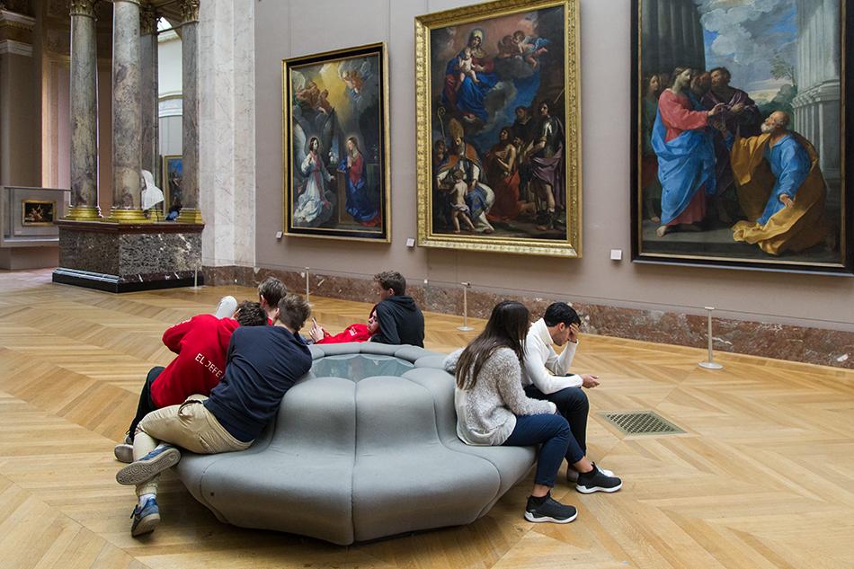 Fabian Fröhlich, Louvre, Reni, Guercino