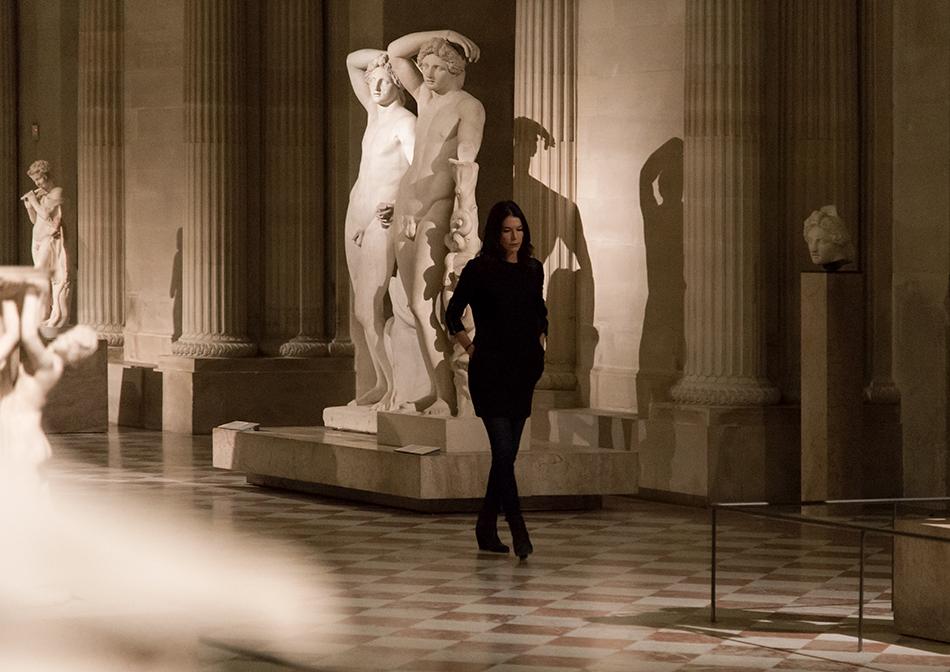 Fabian Fröhlich, Louvre, Salle des Caryatids