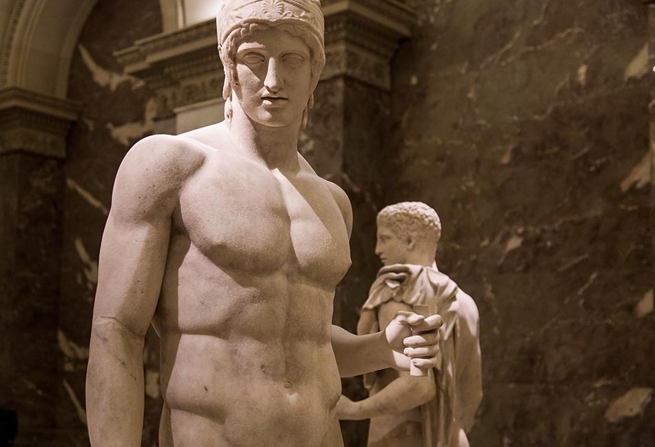 Fabian Fröhlich, Louvre, Arès Borghèse