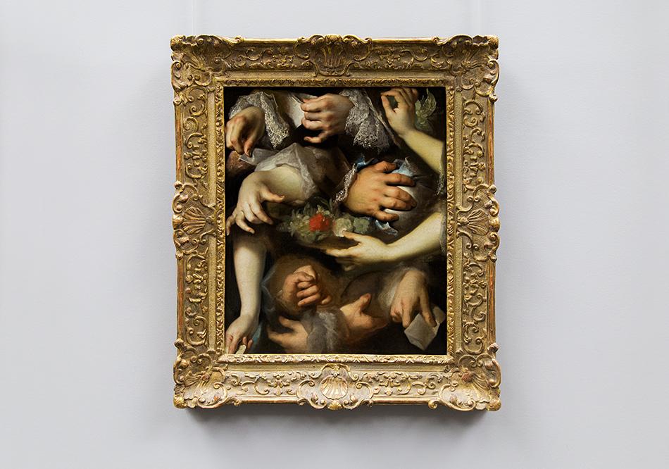 Fabian Fröhlich, Louvre, Nicolas de Largillierre, Hand study