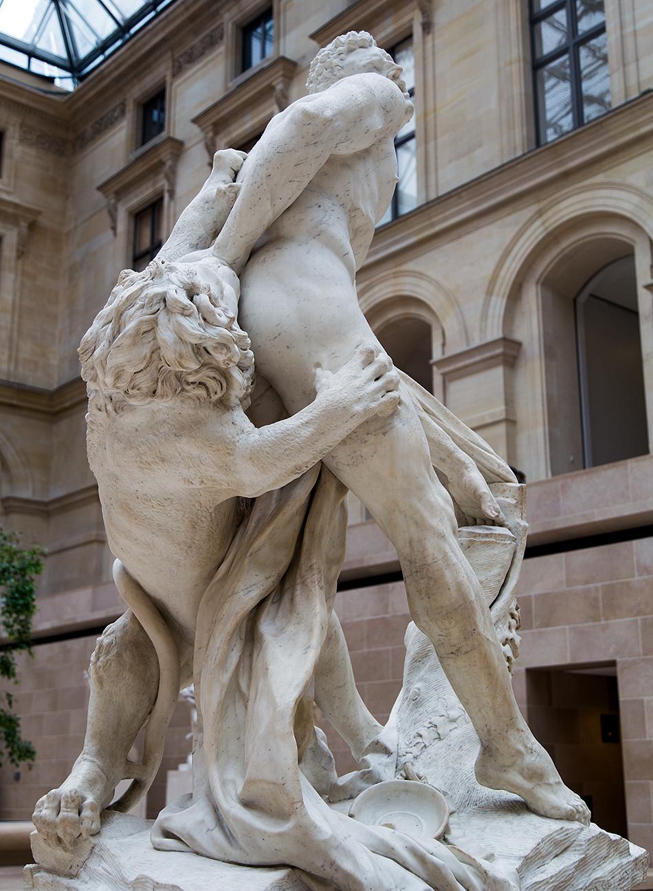 Fabian Fröhlich, Louvre, Pierre Puget, Milon de Crotone
