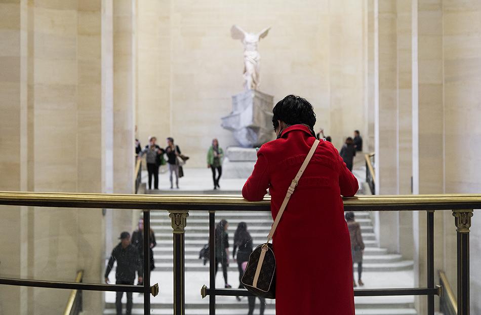 Fabian Fröhlich, Louvre, Victoire de Samothrace