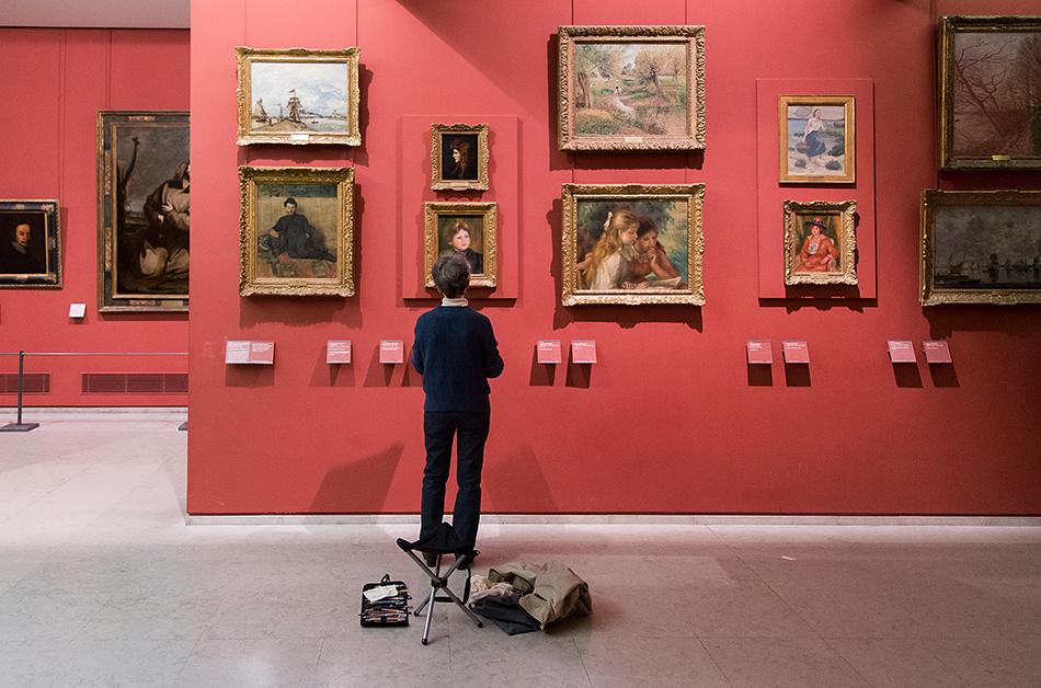 Fabian Fröhlich, Louvre, Renoir