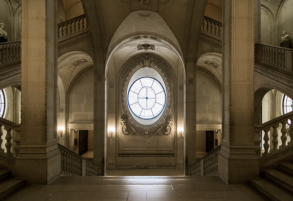 Fabian Fröhlich, Louvre, Staircase