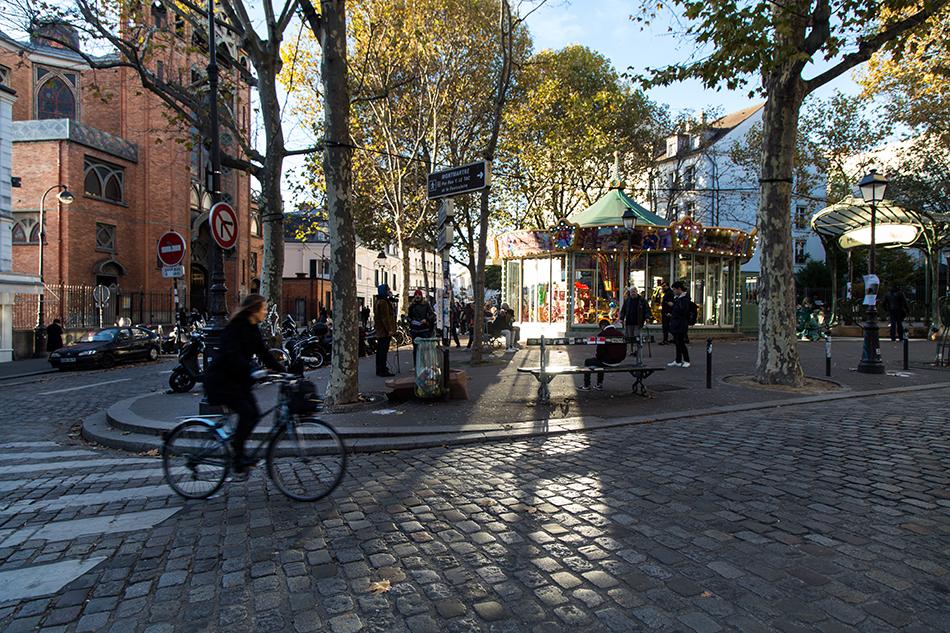 Fabian Fröhlich, Paris, Place des Abbesses
