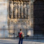 Fabian Fröhlich, Paris, Notre-Dame de Paris, Portal