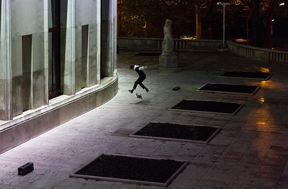 Fabian Fröhlich, Paris, Skater, Palais de Tokyo