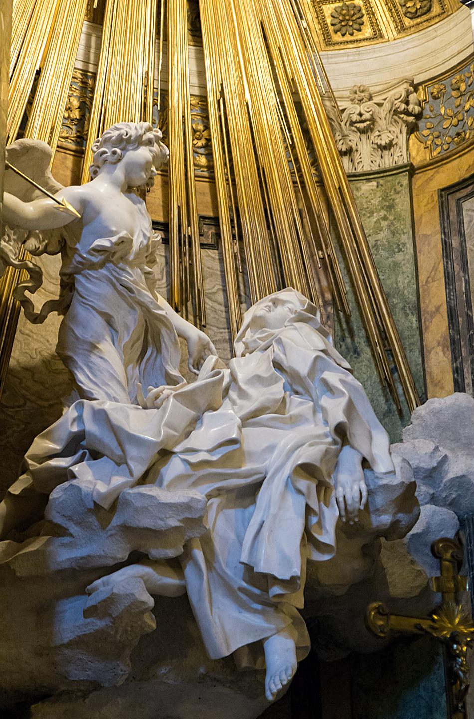 Rom, Verzückung der heiligen Teresa