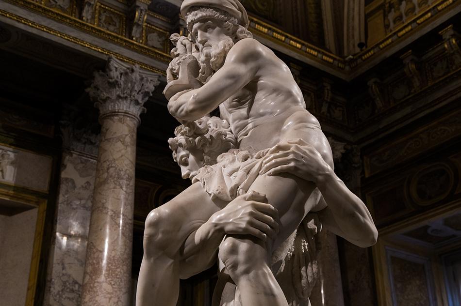 Rom, Galleria Borghese, Gian Lorenzo Bernini,, Aeneas