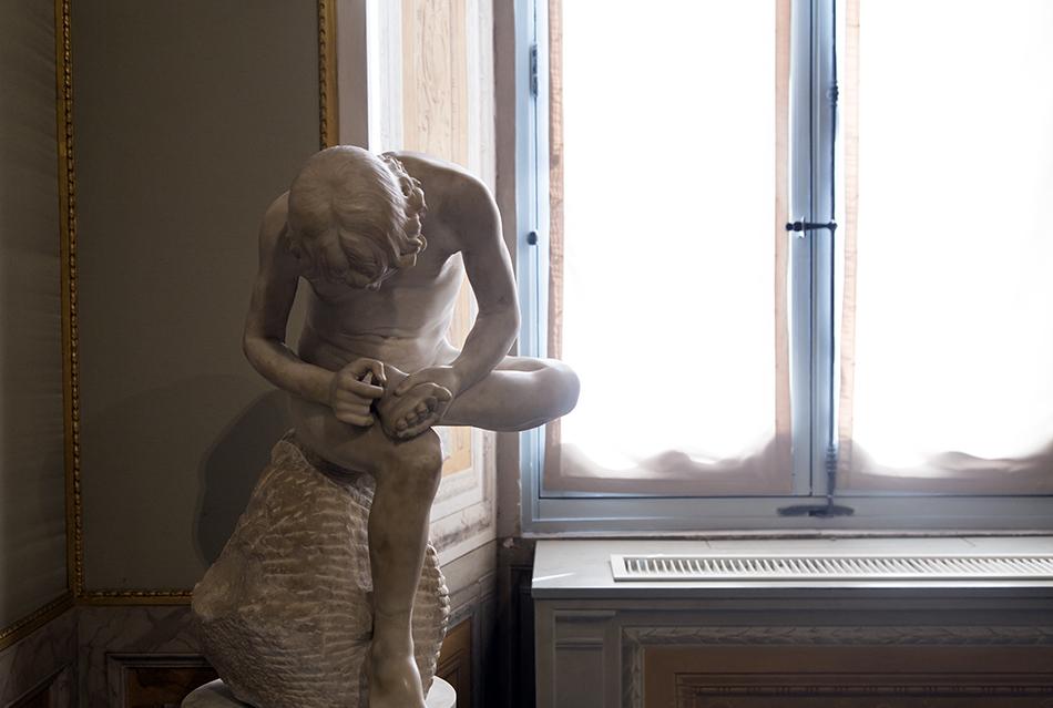Rom, Galleria Borghese, Dornauszieher