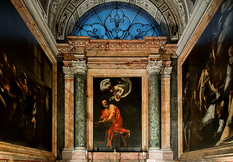 Rom, Heiliger Matthäus, Caravaggio, San Luigi dei Francesi