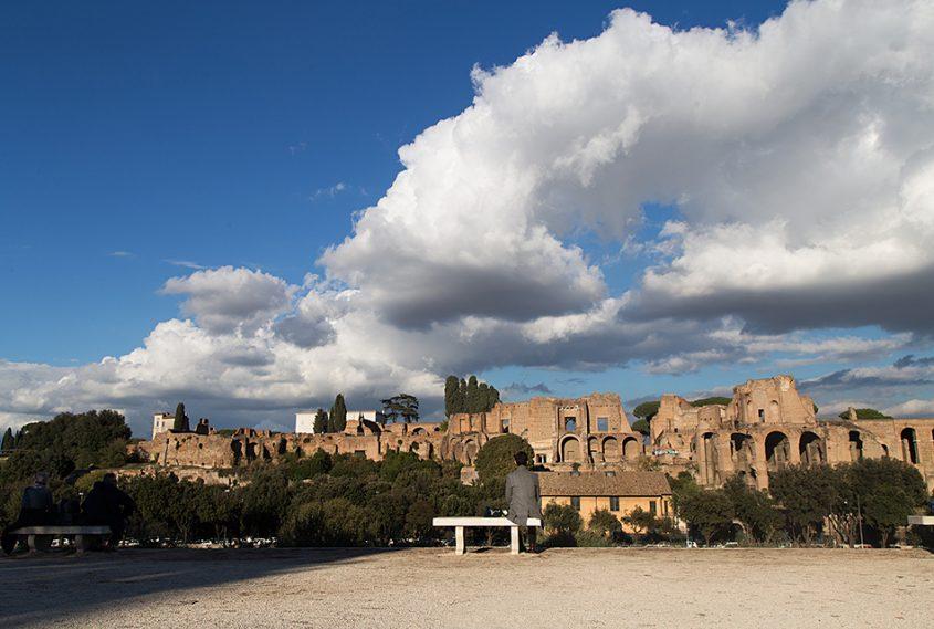 Rom, Circus Maximus and Monte Palatino