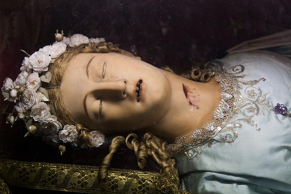Rome, Saint Victoria's Incorruptible Body at Santa Maria della Vittoria