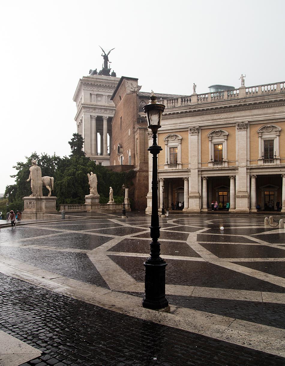 Rom, Kapitolinische Museen,  Piazza del Campidoglio