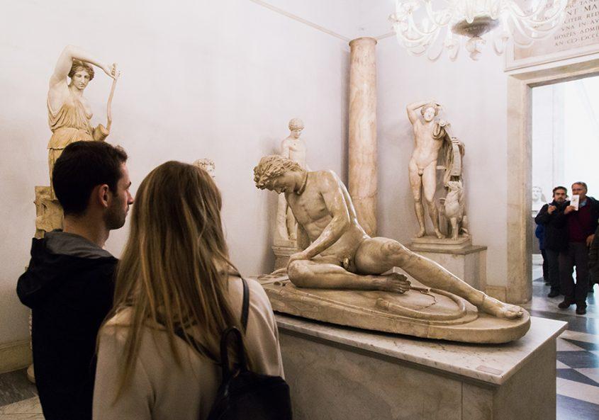 Rom, Kapitolinische Museen, Sterbender Gallier