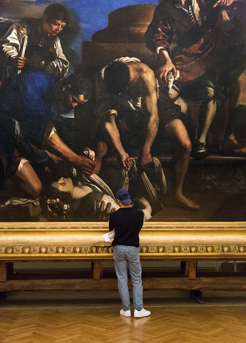 Rom, Kapitolinische Museen,  Guercino, Seppellimento di Santa Petronilla