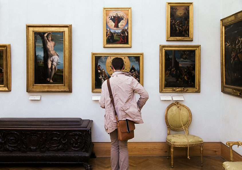 Rom, Kapitolinische Museen, Bottega del Garofalo, Hl Sebastian