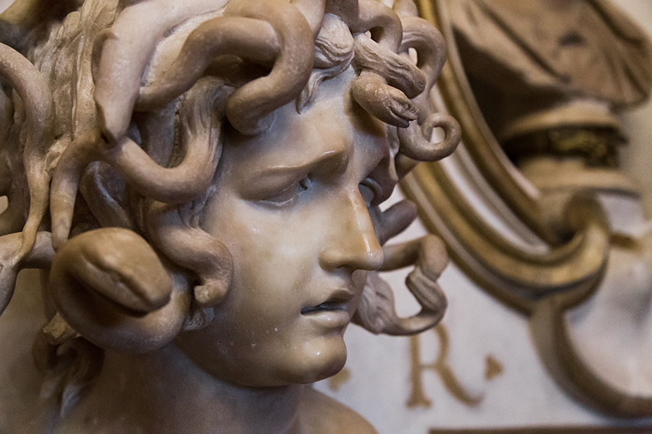 Rom, Kapitolinische Museen,  Gian Lorenzo Bernini, Medusa