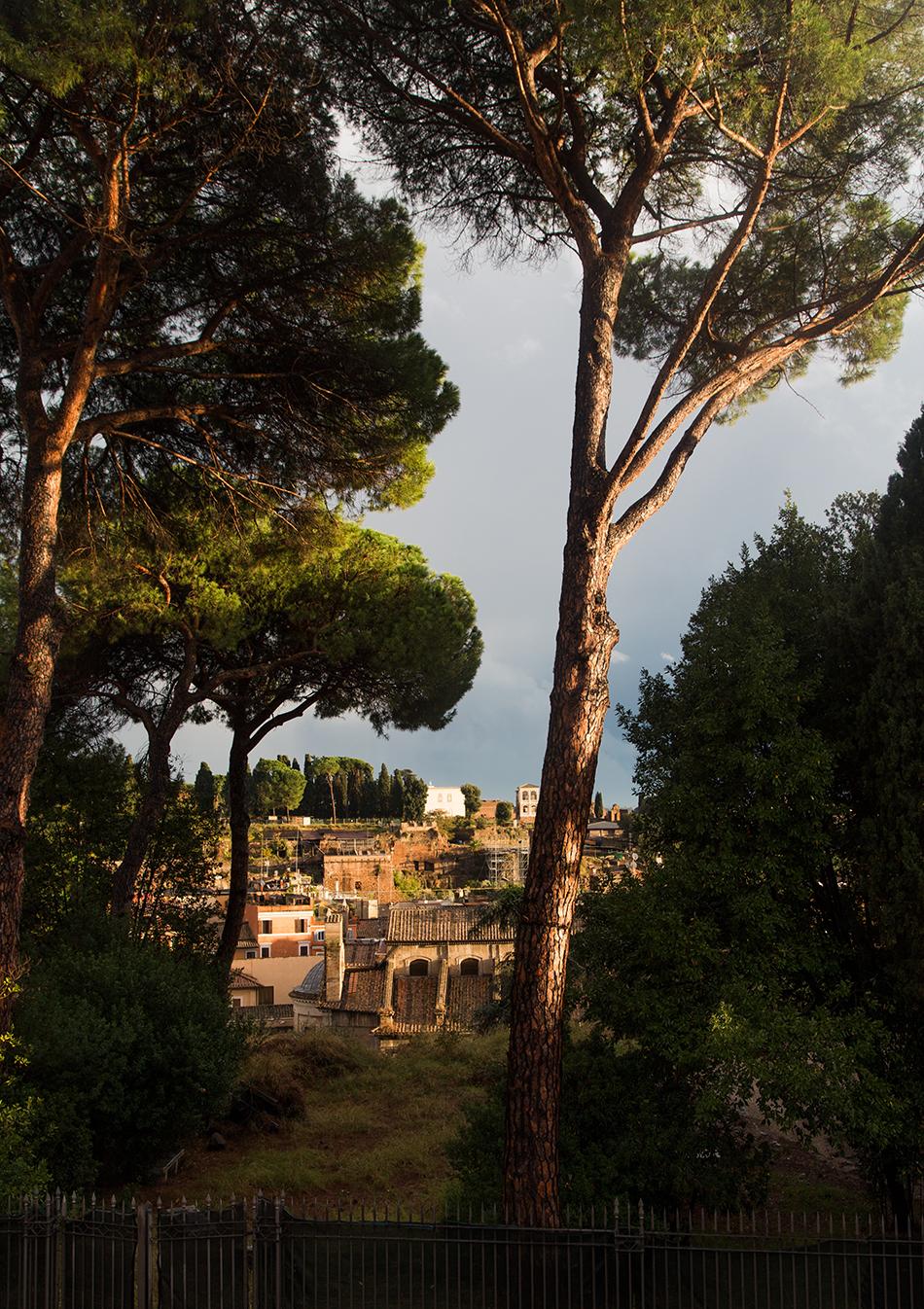 Rom, Kapitolinische Museen, Blick von der Terrasse