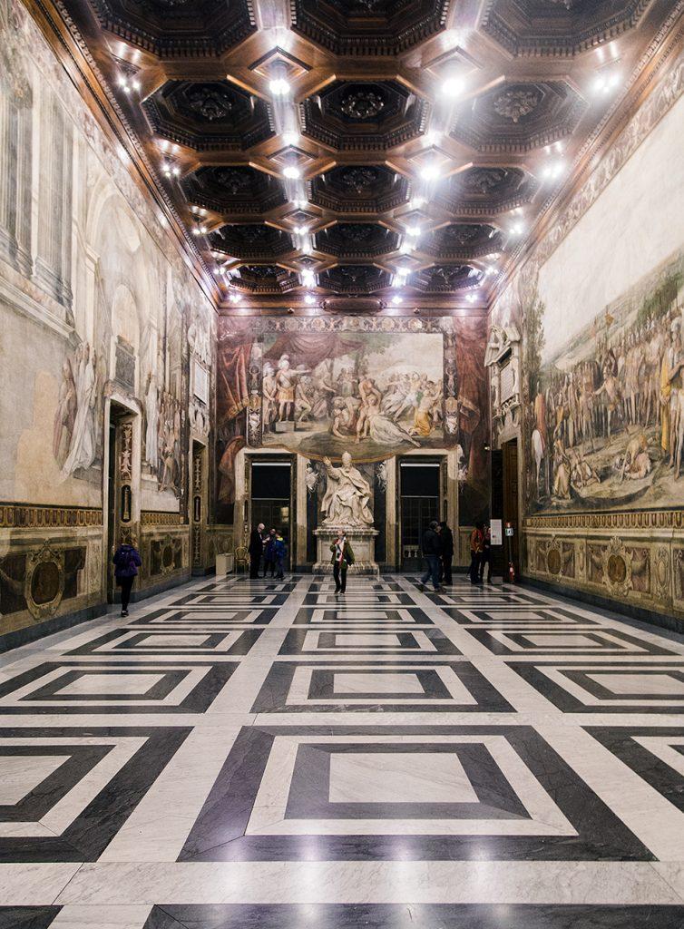 Rom, Kapitolinische Museen, Sala degli Orazi e Curiazi