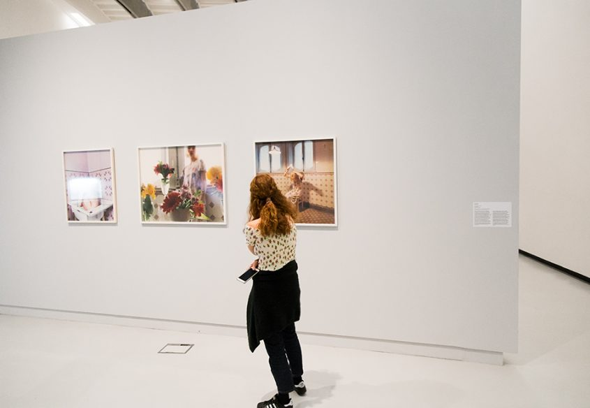 Rom, MAXXI, Elina Brotherus, from the series The new painting