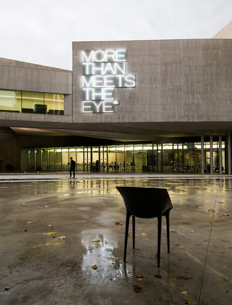 Rom, MAXXI, Maurizio Nannucci, More than meets the eye