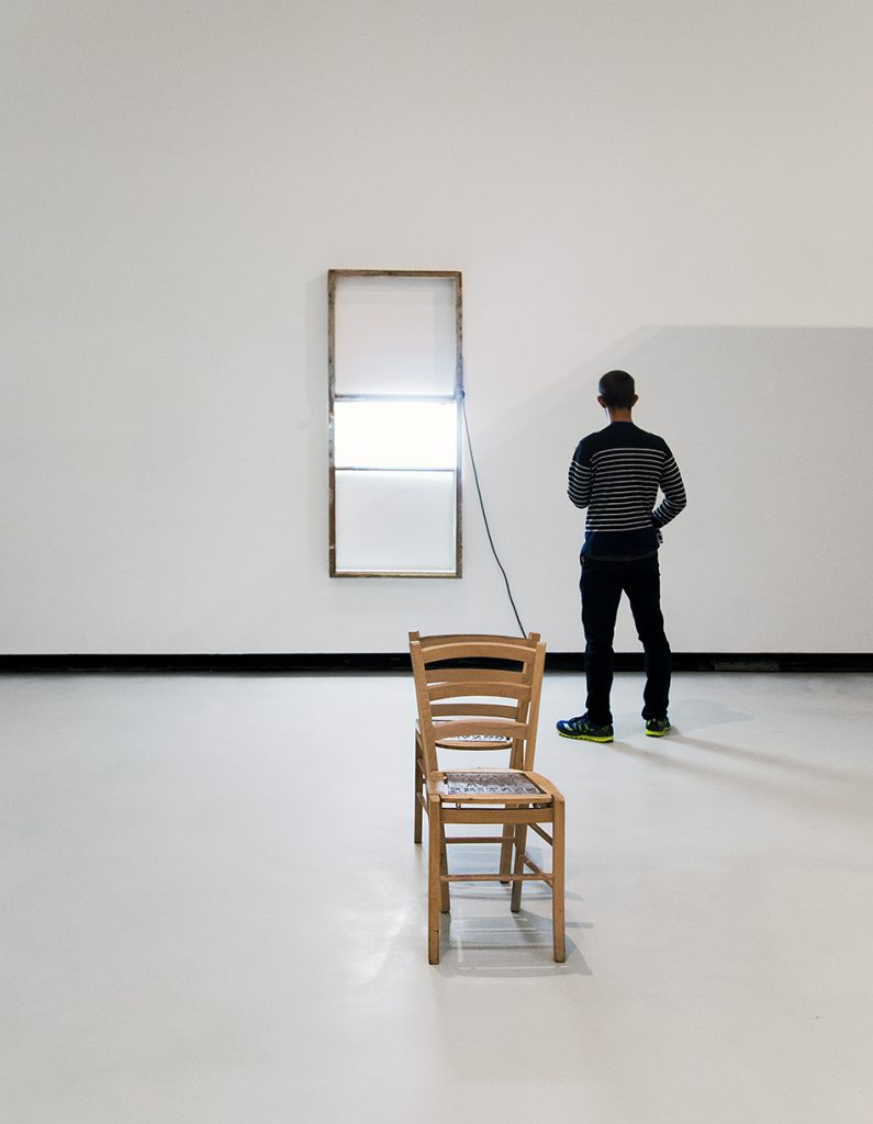 Rom, MAXXI, Pedro Cabrita Reis, Uma luz na janela / H.H. Lim, Quando Roma si fa sentire