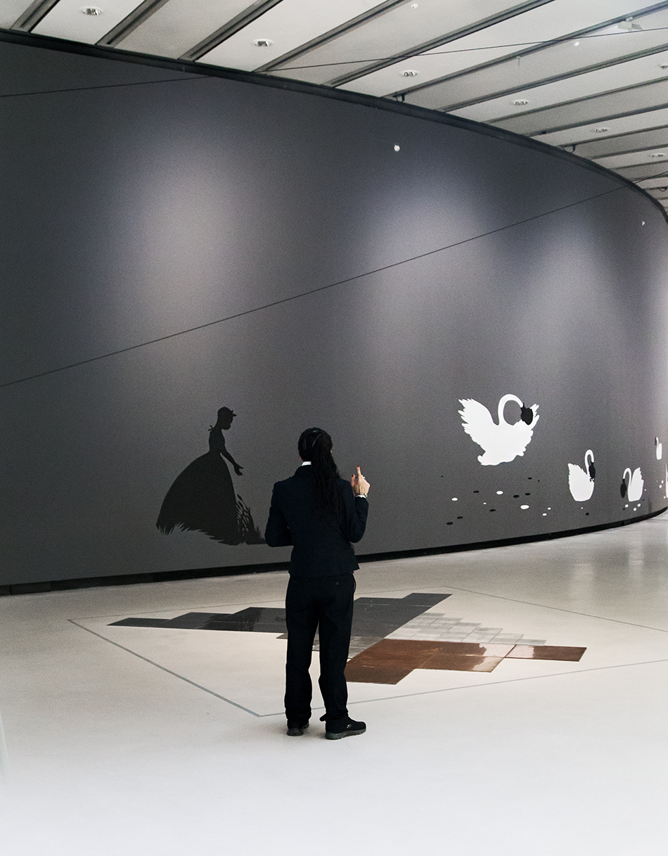 Rom, MAXXI, Carl Andre, Elica Milano / Kara Walker, The Emancipation Approximation