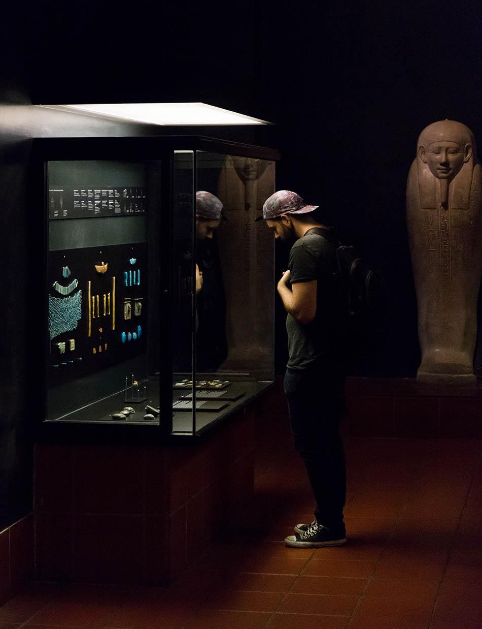 Rom, Vatikanische Museen, Ägyptischer Schmuck