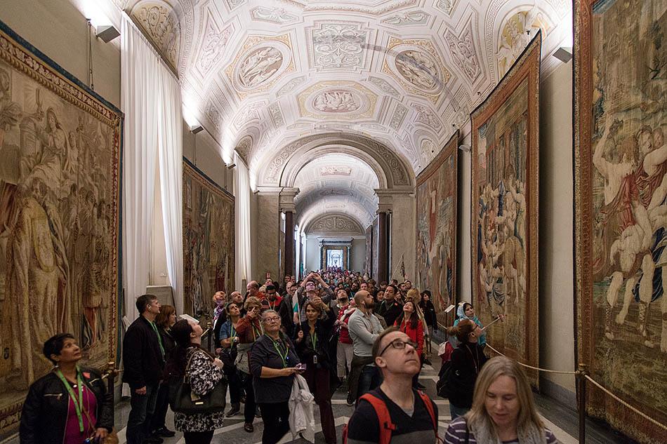 Rom, Vatikanische Museen, Galleria degli Arazzi