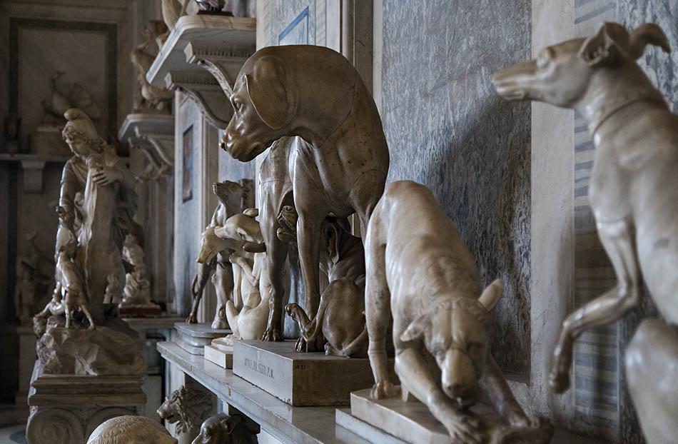 Rom, Vatikanische Museen, Saal der Tiere