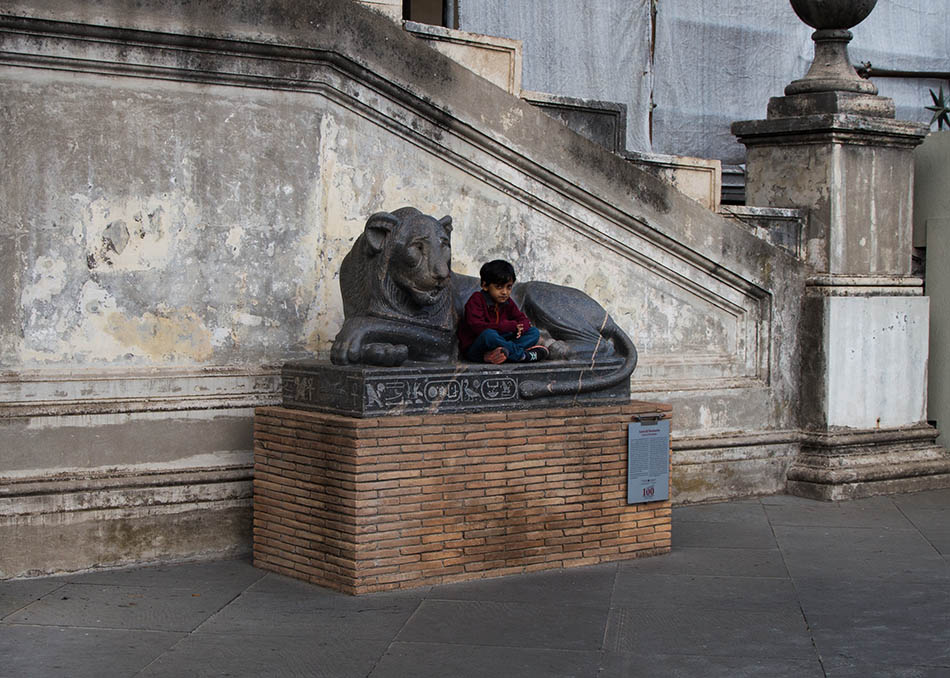 Rom, Vatikanische Museen, Löwe des Nectanebo
