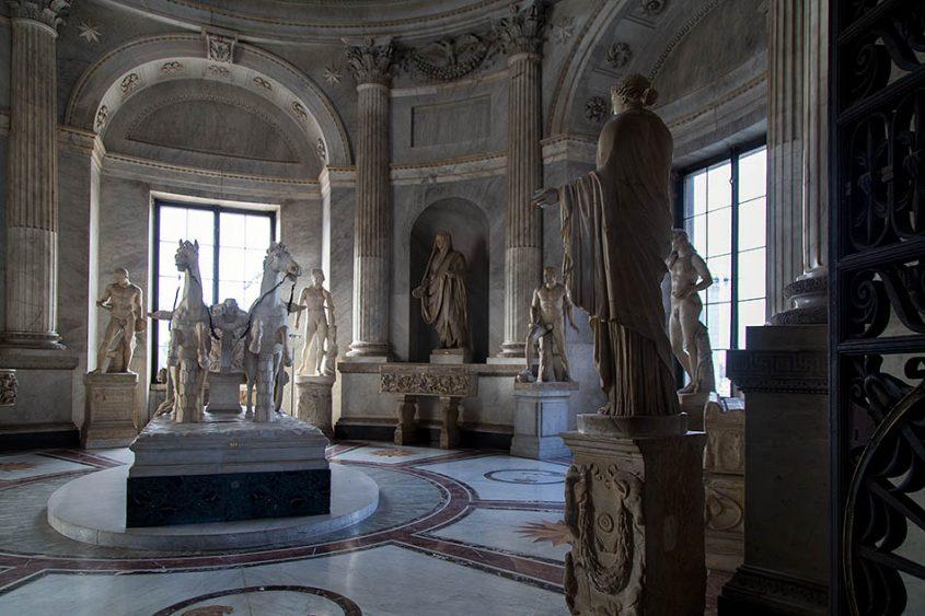 Rom, Vatikanische Museen, Museo Pio Clementino, Sala della Biga