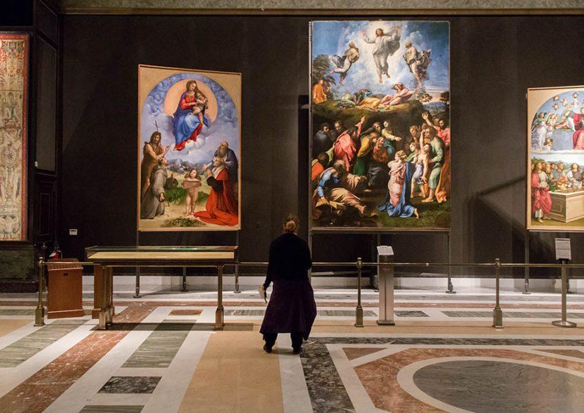 Rom, Vatikanische Museen, Raffael, Transfiguration