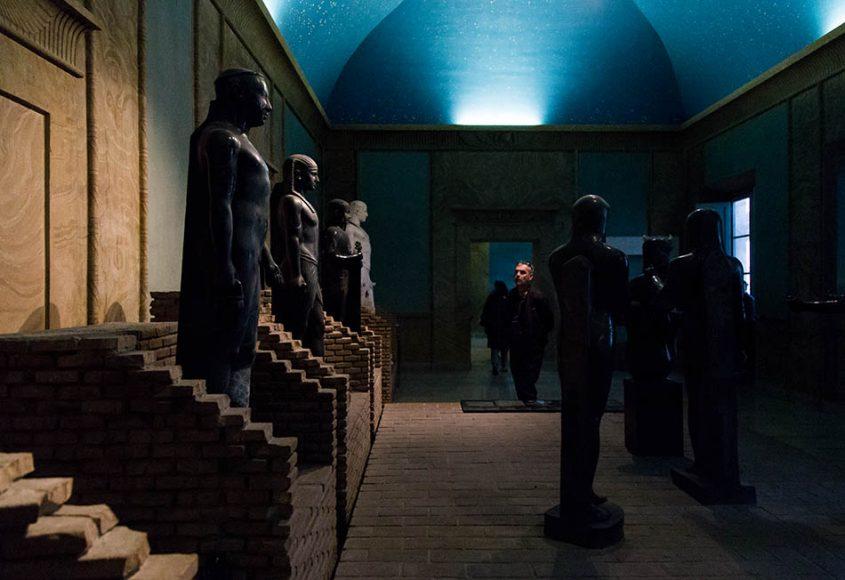 Rom, Vatikanische Museen, Museo Gregoriano Egizio, Ricostruzione del Serapeo del Canopo di Villa Adriana a Tivoli