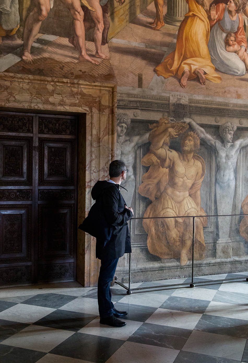 Rom, Vatikanische Museen, Stanza dell'Incendio di Borgo