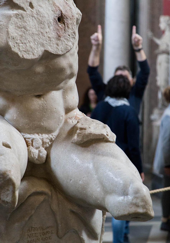 Rom, Vatikanische Museen, Torso von Belvedere
