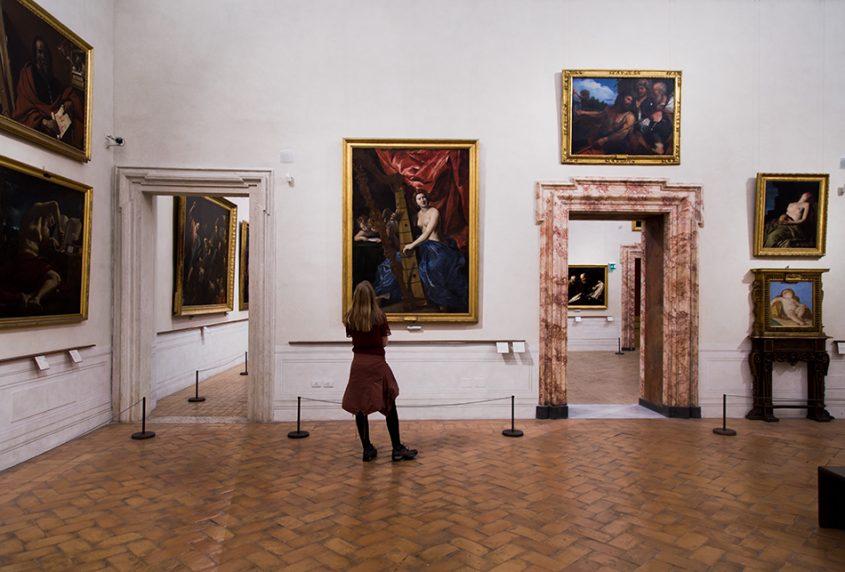 Rom, Palazzo Barberini, Giovanni Lanfranco, Venus mit Harfe