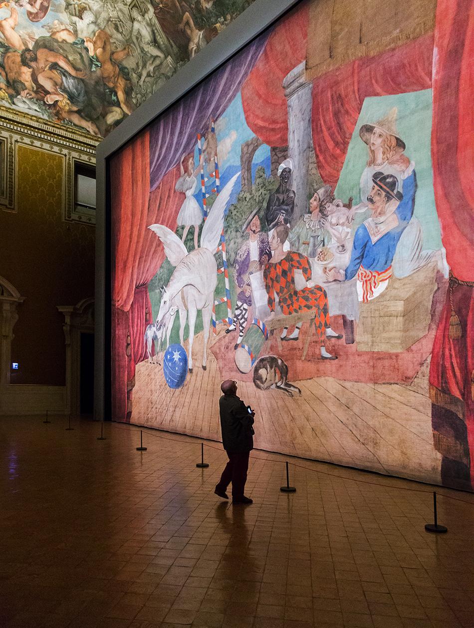 Rom, Palazzo Barberini, Pablo Picasso, Parade