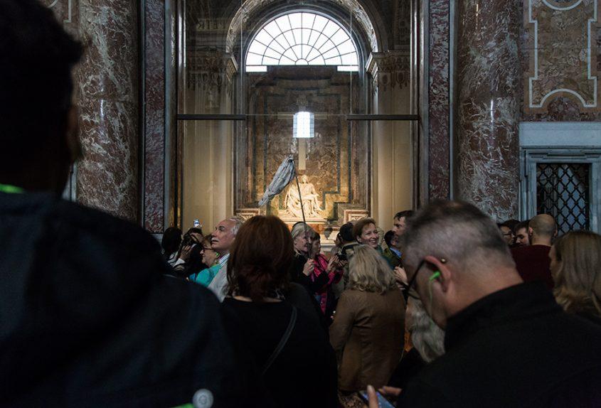 Rom, Petersdom, Pieta by Michelangelo