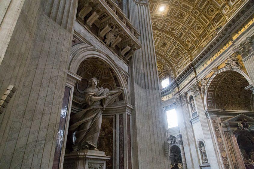 Rom, Petersdom, Statue of St. Veronica by Francesco Mochi