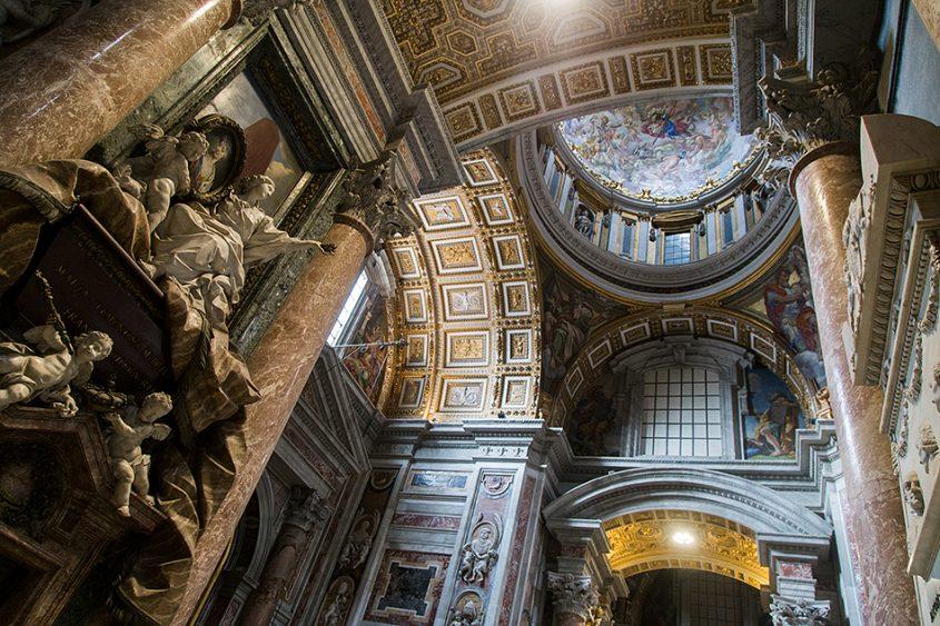Rom, Petersdom, Monument to Maria Clementina Sobieski