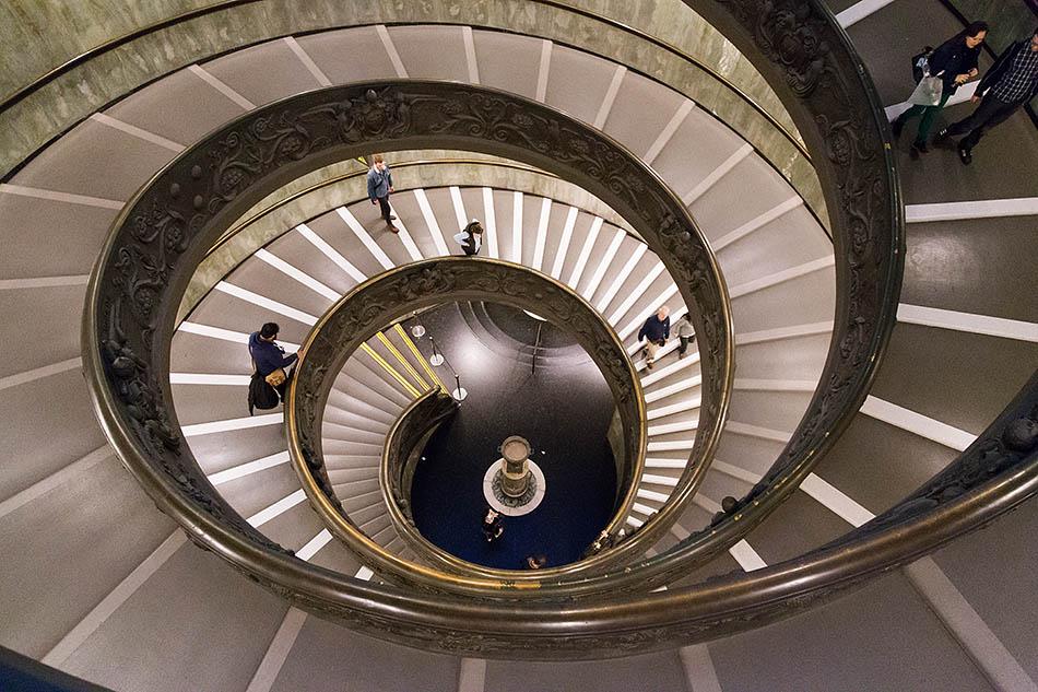 Rom, Vatikanische Museen, Bramante Treppe