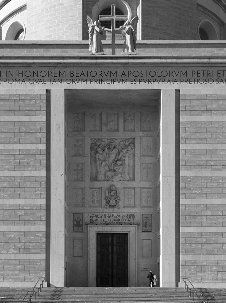 Rom, EUR, Santi Pietro e Paolo a Via Ostiense