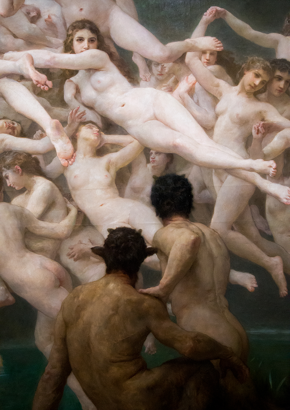 Paris, Musée d'Orsay, William Bouguereau, Die Oreaden