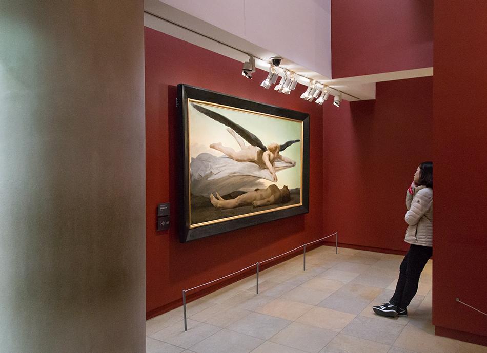 Paris, Musée d'Orsay, William Bouguereau,, Gleichheit vor dem Tod