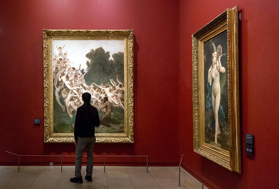 Paris, Musée d'Orsay, William Bouguereau, Die Oreaden