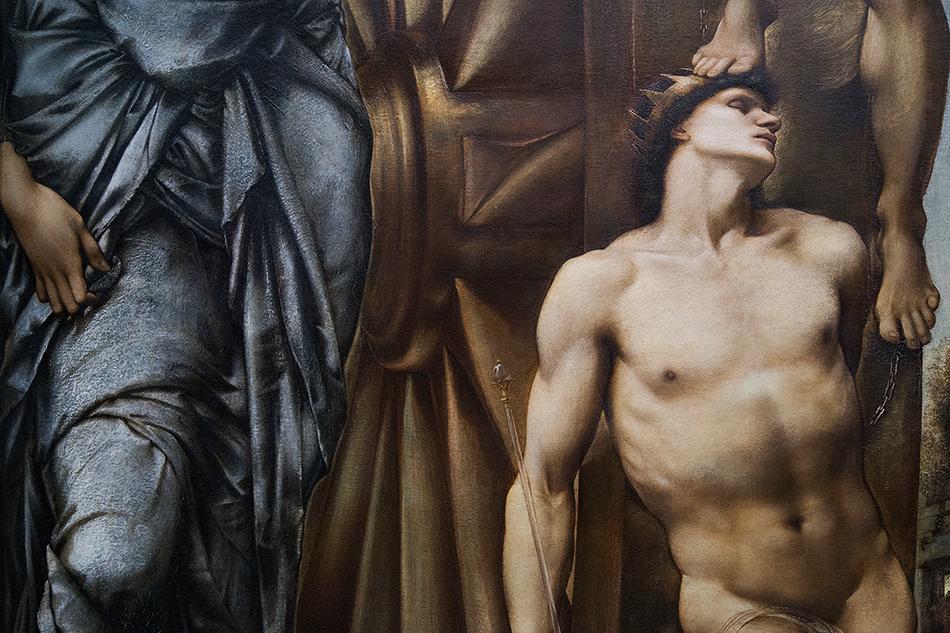 Paris, Musée d'Orsay, Edward Burne-Jones,, Das Schicksalsrad